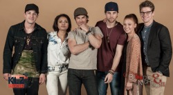 Фото с кастом TVD с BloodyNightCon Europe